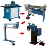 Полуавтоматическое оборудование для производства водосточных систем